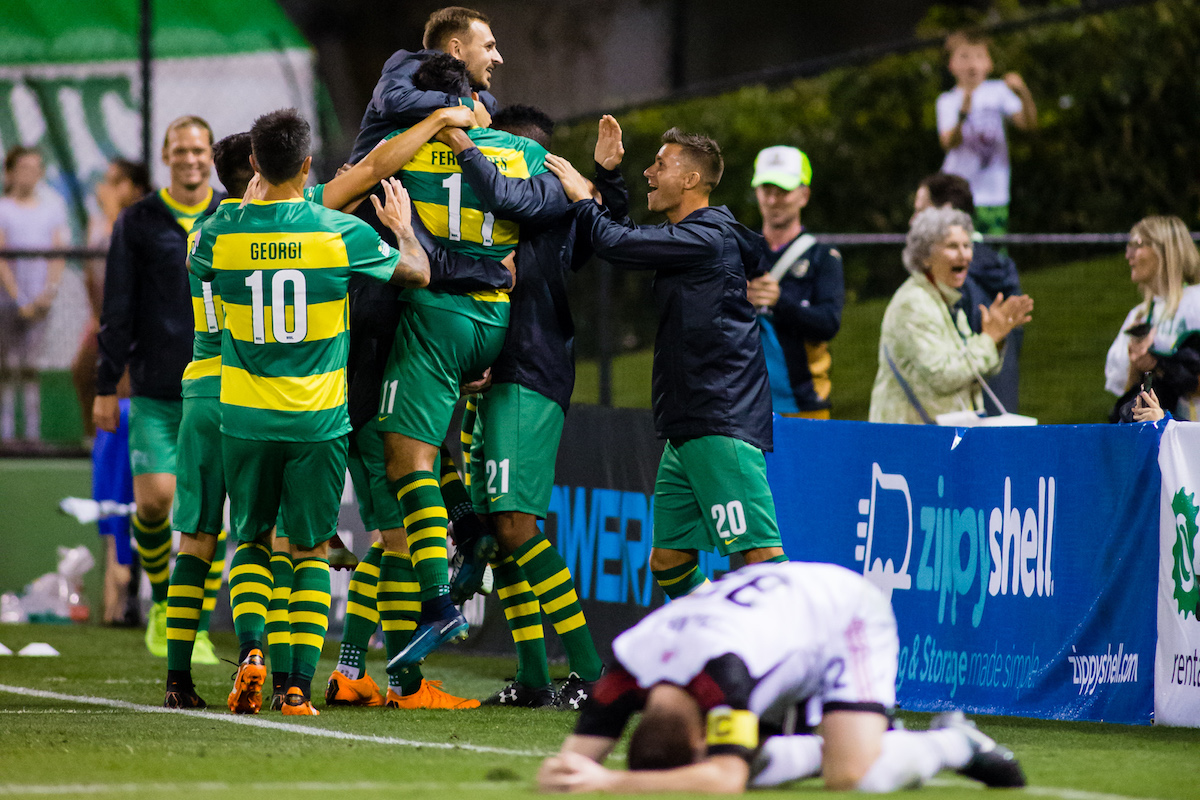 Tampa Bay Rowdies vs Ottawa Fury 4/7/18