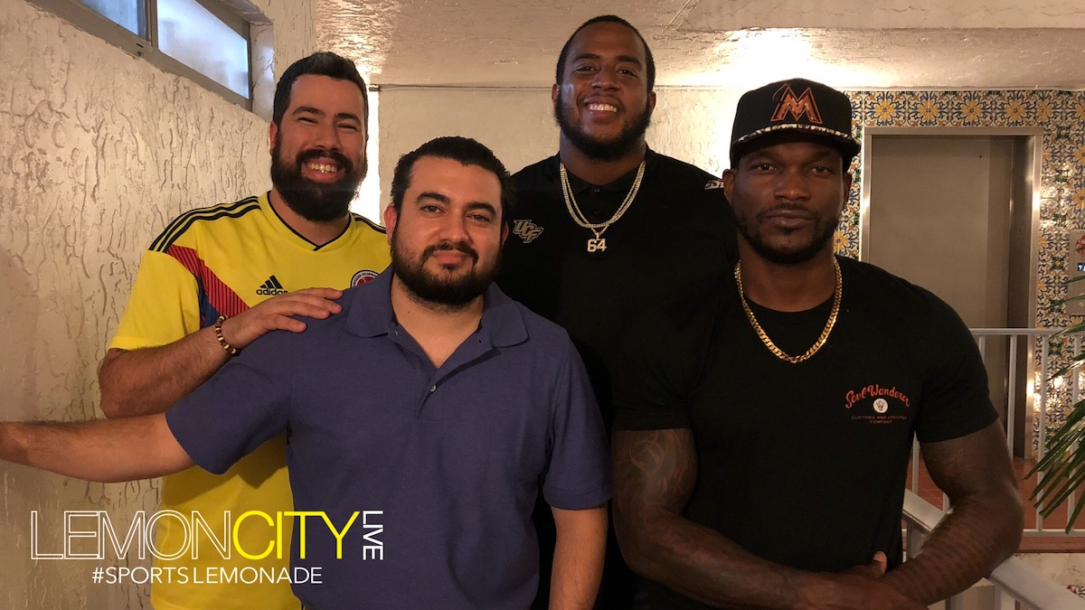 Lemon City Live Episode 119. Miami Sports Podcast