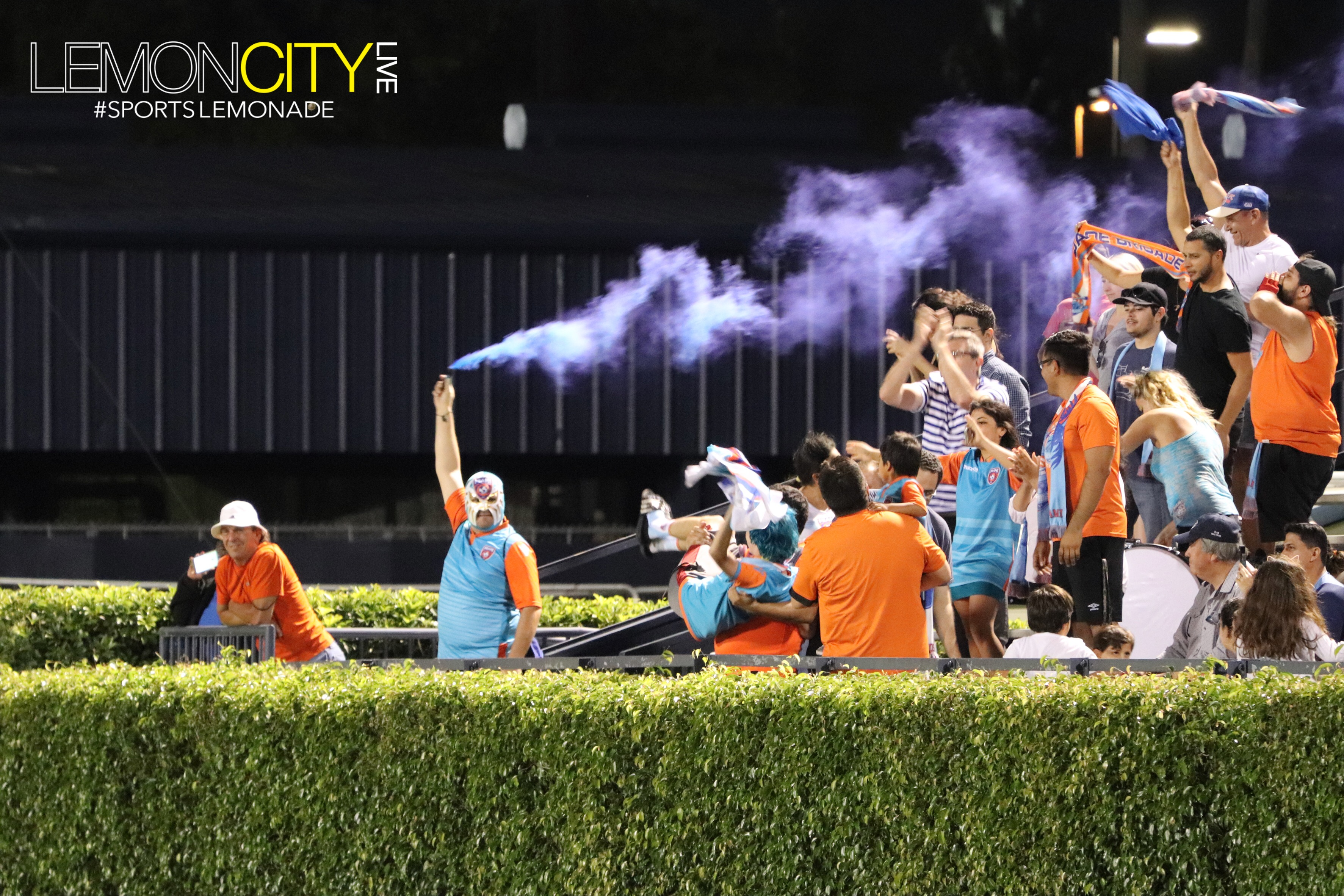 The Miami FC's Dade Brigade gets #LIT!