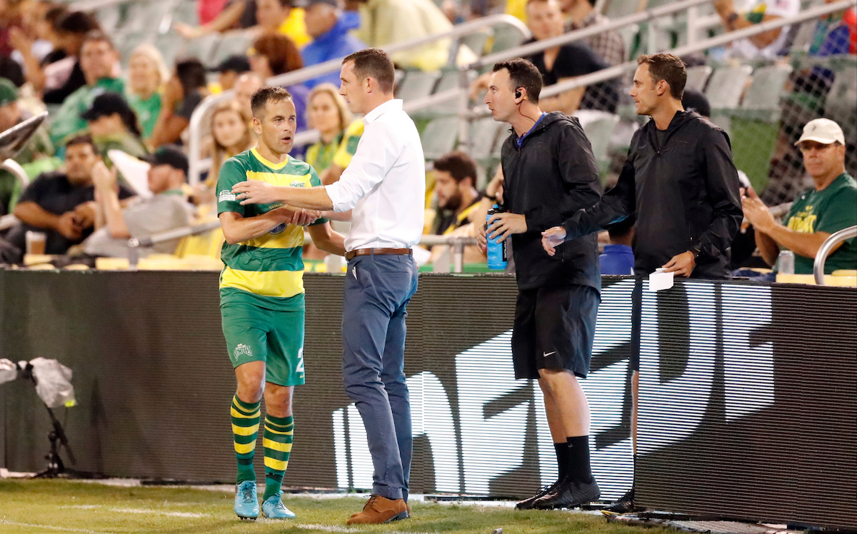Tampa Bay Rowdies midfielder Joe Cole