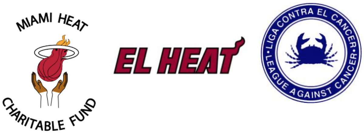 HEAT DONATED $10,000 TO LA LIGA CONTRA EL CÁNCER