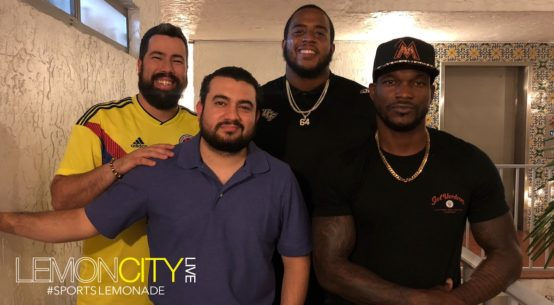 Lemon City Live Episode 119. Miami Sports Podcast