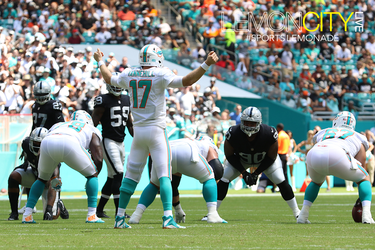 3-0 undefeated Miami Dolphins vs Oakland Raiders | September 23rd