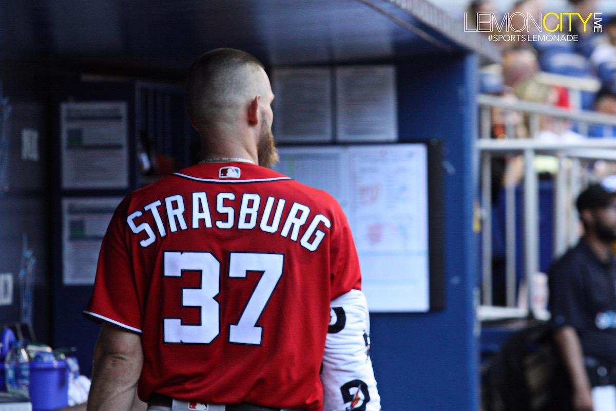 Stephen Strasburg blank Marlins