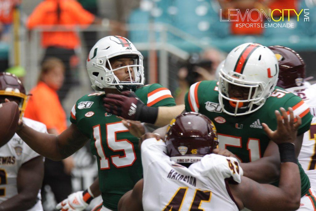 Miami Hurricanes ugly win