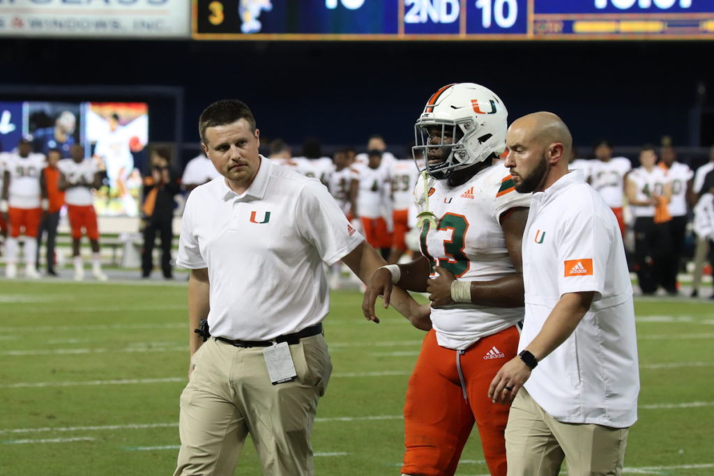 FIU Panthers shocked the Miami Hurricanes