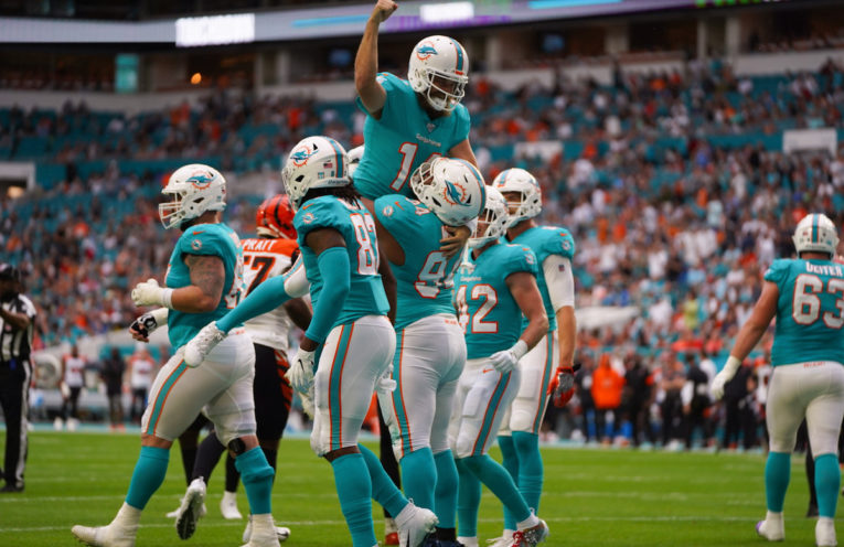 Dolphins won last home game