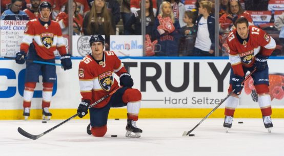 Florida Panthers third straight loss