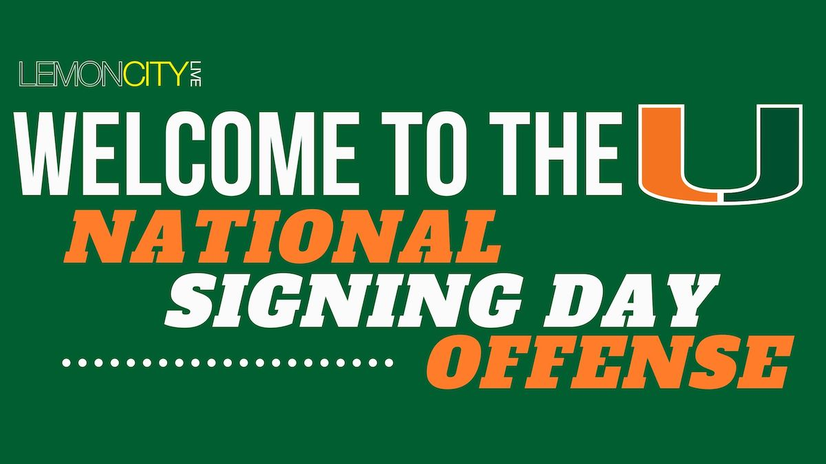 National Signing Day Miami Hurricanes