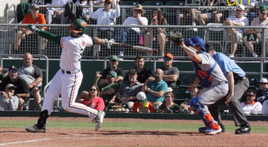 Gators sweep Hurricanes