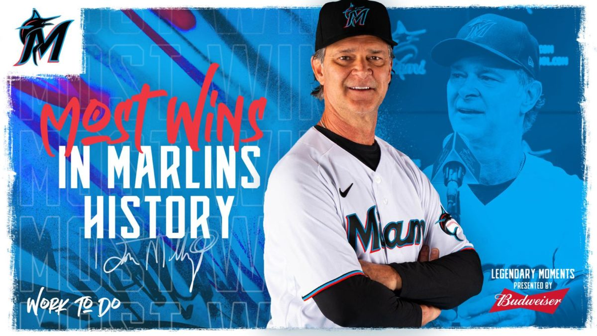 Miami Marlins Sweep Series