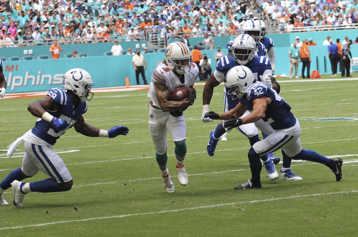 Miami Dolphins Defense Colts